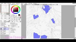 ocean u0027s paint tool sai tutorial skin youtube