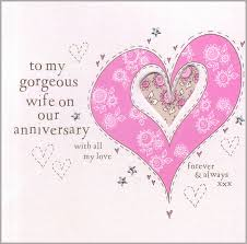 Anniversary Card For Wife Message Free Printable Wedding Anniversary Cards For Wife