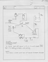 alternator wiring best of 1 wire diagram saleexpert me