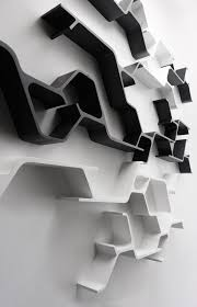 wandregal design modulares design wandregal bietet unendlich verschiedene kompositionen