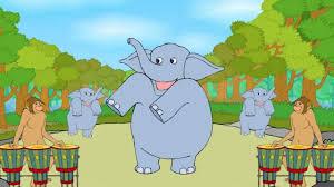 baby elephant english nursery rhymes cartoon animated rhymes