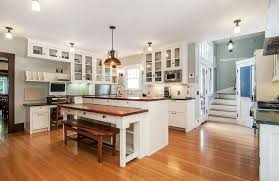 Kitchen Island With Built In Seating Beautiful Kitchen Islands With Bench Seating Designing Idea