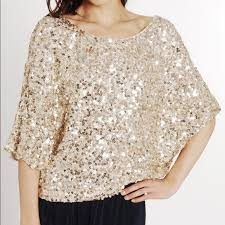 78 vince tops vince gold sequin top size small from adele s