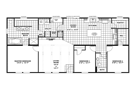 Double Wide Trailers Floor Plans by The Anniversary 2 0