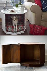 Dog Bed Nightstand Diy End Table With Dog Bed