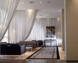 sliding curtain room dividers home design ideas throughout