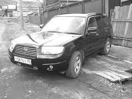 white subaru forester 2006 subaru forester 2006 2л 4 wd черный бензин правый руль