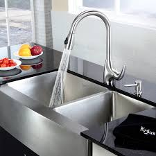 Kraus  Inch Farmhouse Double Bowl Stainless Steel Kitchen Sink - Farmhouse double bowl kitchen sink