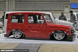 stanced jeep liberty mooneyes hotrod show 19 speedhunters