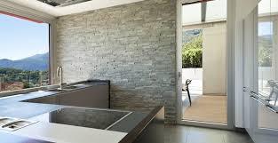 steinwand küche steinwand strukturtapete ratgeber haus garten