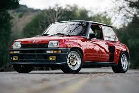 listed 1985 renault 5 turbo 2 evolution automobile magazine