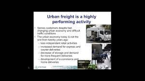 Webinar E Commerce Logistics Oct Solutions Webinar City Logistics