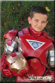 Halloween Costumes Ten Boys Watch Tony Stark Iron Man Town Boy