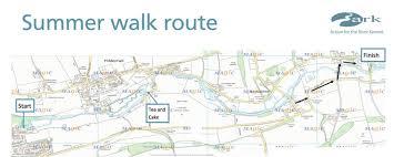Riverwalk Map Summer River Walk 2015 Ark River Kennet