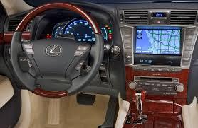 lexus hybrid 2010 lexus ls 600h l hybrid 2010 interior design interiorshot com