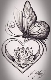 gallery for drawings of roses with ribbon clip art library