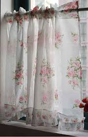Country Lace Curtains Catalog Sweet Rose Curtains Made From Vintage Fabric You Won U0027t Find These