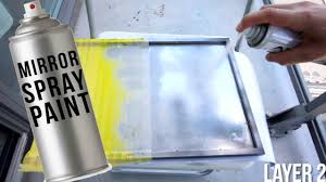 Rustoleum Spray Paint For Wood Testing Out A Mirror In A Can Mirror Spray Paint Youtube