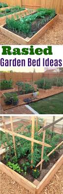 Raised Gardens Ideas Raised Garden Bed Ideas Raised Garden Beds Garden Map Container