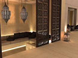 the interior design project for a luxury villa in kuwait city