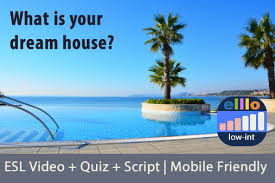 what is your dream house one minute english video 1371 what is your dream house