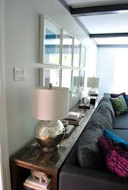 Small Desk Next To Sofa 25 Best Bookcase Behind Sofa Ideas On Pinterest Room Divider