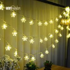 online get cheap twinkle snowflake lights aliexpress com