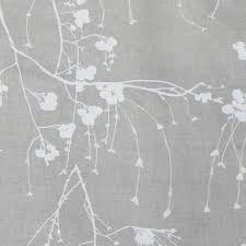What Type Of Fabric For Curtains Berry White White Patterned Linen Mix Fabric