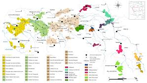 Napa Valley Winery Map Loire Valley Wine Wikipedia