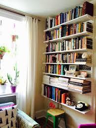 we love this sleek simple elfa bookshelf posted by blogger south