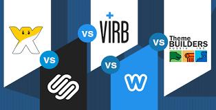 wix vs squarespace vs virb vs weebly vs wordpress builders 2017