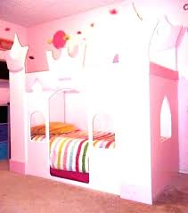Princess Bunk Bed With Slide Castle Bed With Slide Princess Castle Bunk Beds With Slide Castle