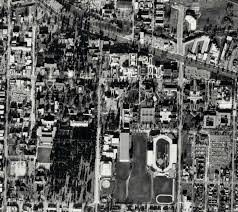 University Of Oregon Campus Map by Uo Campus Aerial Photos Uo Libraries