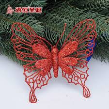 Glitter Butterfly Christmas Decorations by Aliexpress Com Online Shopping For Electronics Fashion Home