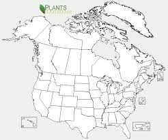 map of us and canada meridianintl co attachment blan map canada us