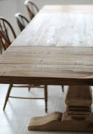 Natural Wood Dining Room Table by Restoration Hardware Table Finishes U0026 Ways To Protect It