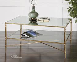Accent Side Table Coffee Table Glass Gold Coffee Table Wonderful Brown Walnut