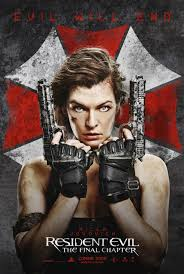click to view extra large poster image for resident evil the