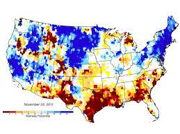 Map Of East Texas News Nasa U0027s Grace Helps Monitor U S Drought