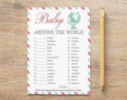 different baby shower travel baby shower etsy