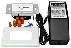 Lightkiwi Q Hardwire Kit For LED Under Cabinet Lighting - Hardwired under cabinet lighting kitchen