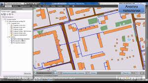 Moa Map Autocad Map 3d анализ топологии сети Youtube
