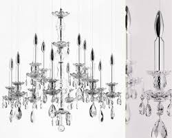 Modern Contemporary Crystal Chandelier  Montreal Crystal - Crystal chandelier dining room