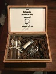 wooden groomsmen gifts personalized stained wood box groomsman gift box by broboxes