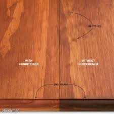 Can You Sand And Stain Laminate Flooring Wood Finishing Tips Family Handyman