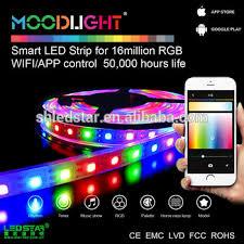 programmable led light strips christmas app control led programmable rgb strip smart mobile phone