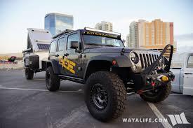 overland jeep setup 2017 sema aoe american overland expedition jeep jk wrangler