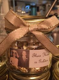 anniversary party favors 50th wedding anniversary party favor their is golden