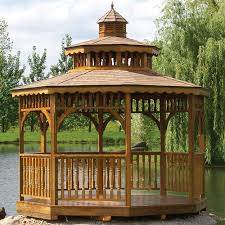 Patio Gazebos by Outdoor Gazebo Kits Patio Or Garden Gazebos Wooden Screened