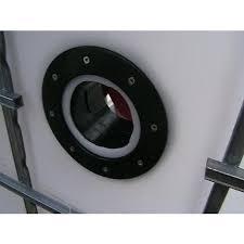 paroi pvc connecteur bâche passe paroi pvc 110 mm pour bassin de jardin et